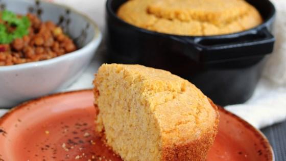 gluten-free mini cornbread cocottes