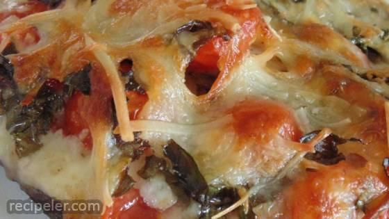 Gluten-Free Portobello Pizza