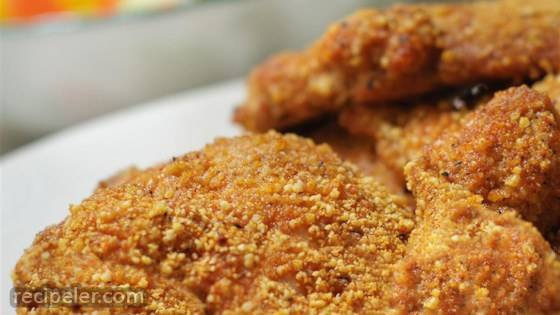 Gluten-Free Shake and Bake Almond Chicken