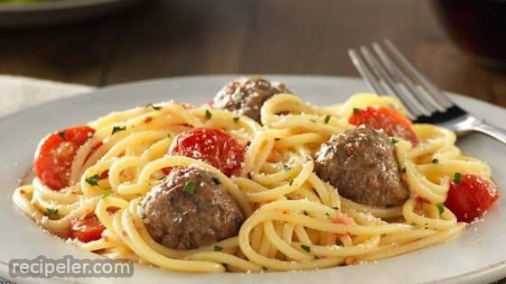 Gluten Free Spaghetti & Meatballs