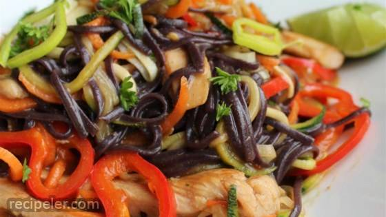 Gluten-Free, Super-Easy Chicken Pad Thai