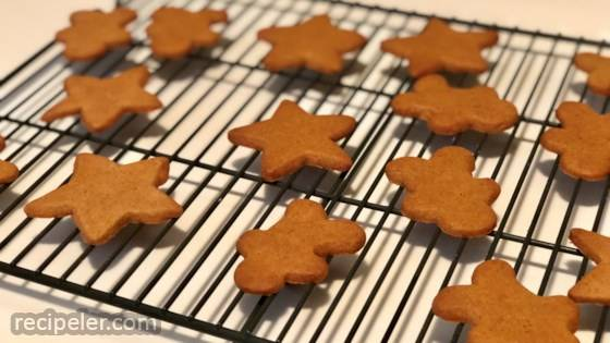 Gluten-Free Vegan Gingerbread Cookies