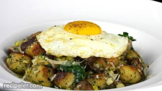 Golden Potato Gnocchi