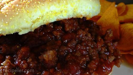Good and Easy Sloppy Joes