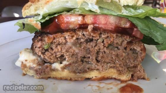 Gourmet Grilling Burgers