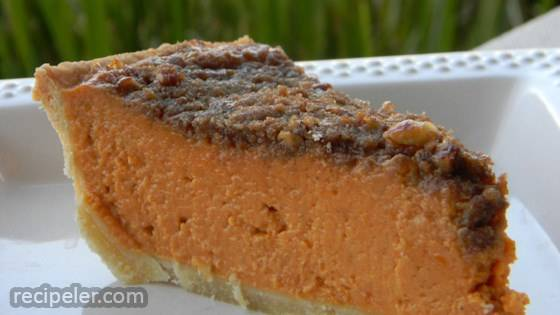 Gourmet Pumpkin Pie