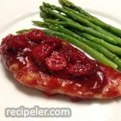 Gourmet Raspberry Chicken