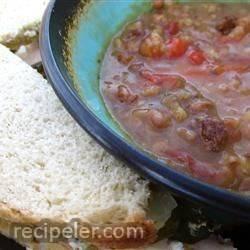 Grandma B's Bean Soup