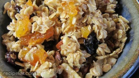 Grandma Nancy's Apricot Almond Granola