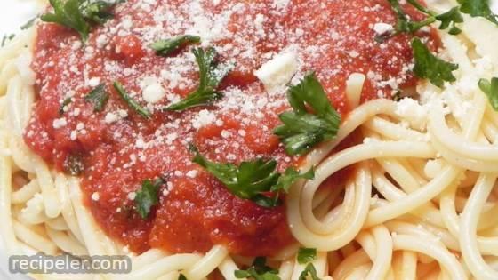 Grandma Rosie's Extra Smooth Spaghetti Sauce