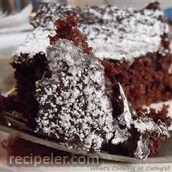 grandma's eggless, butterless, milkless cake