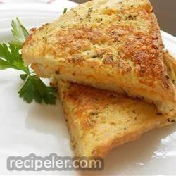 Grandma's talian Grilled Cheese Sandwich