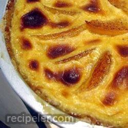 Grandma Sal's Peach Kuchen