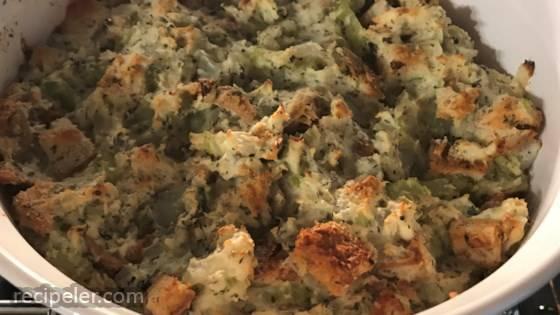 Grandma Smith's New Brunswick-Style Turkey Stuffing