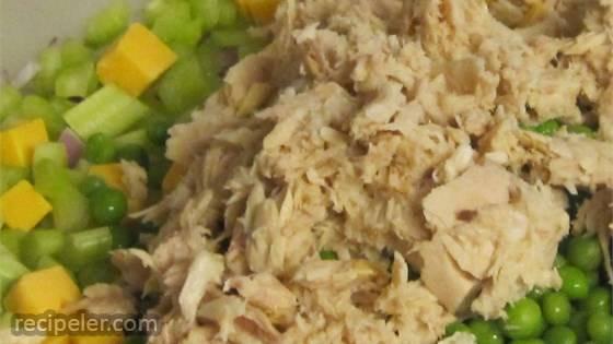Grandma Wells' Tuna Macaroni Salad