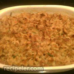 Gravy Stuffing Chicken Bake