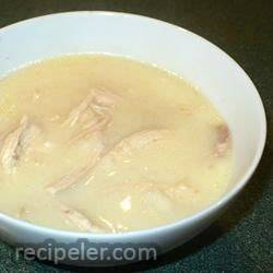 Greek Avgolemono Chicken Soup