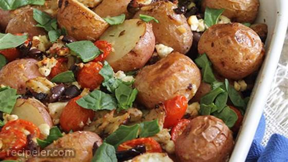 Greek Potato Casserole