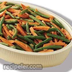 Green Bean and Sweet Potato Medley