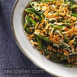 Green Bean Cheddar Casserole