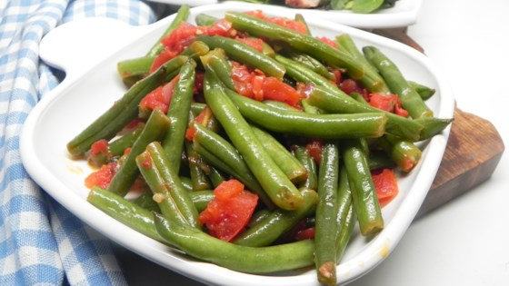 Green Beans With A Kick