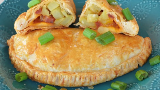 green chile, andouille sausage, and potato hand pies