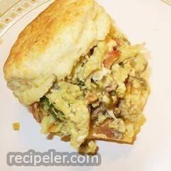 Green Eggs and Ham Breakfast Sandwich