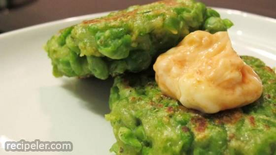 Green Pea Patties