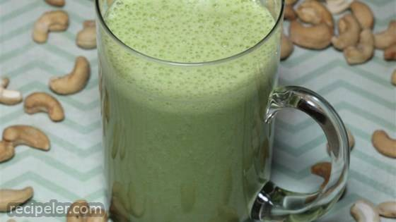 Green Tea Pear Smoothie