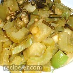 Green Tomato and Bell Pepper Delight