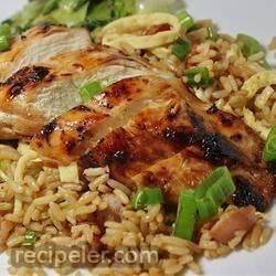 Grilled Asian Chicken