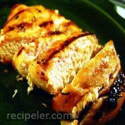 grilled caribbean chicken