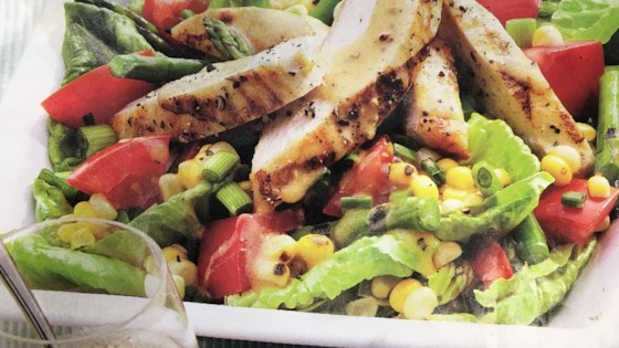 Grilled Chicken And Charred Corn Salad
