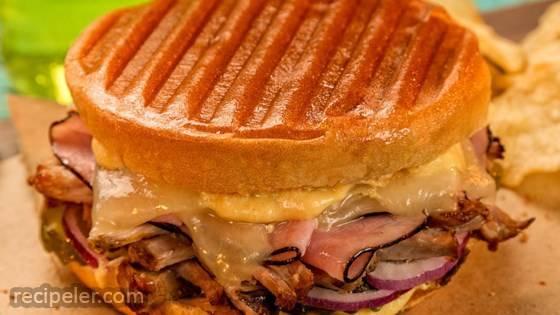 Grilled Cuban Bunini Sandwich