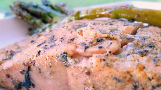 grilled dijon-lemon pepper salmon