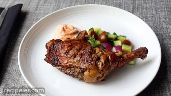 Grilled Greek Chicken