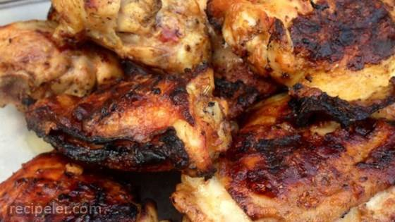 Grilled Lemon Yogurt Chicken