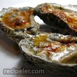 Grilled Oysters with Fennel Butter