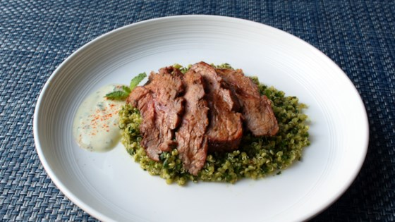 Grilled Pastrami-spiced Lamb Top Sirloin