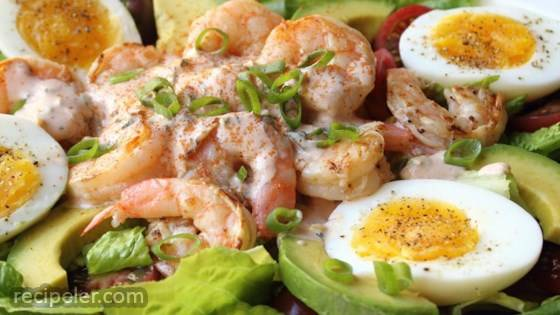 Grilled Shrimp Louie