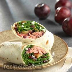 Grilled Steak Wraps