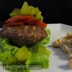 Grilled talian Hamburgers