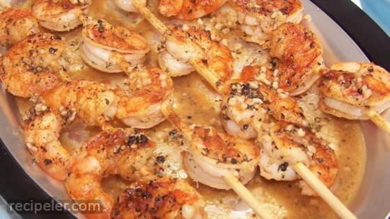 grilled tequila-lime shrimp