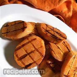 grilled yams