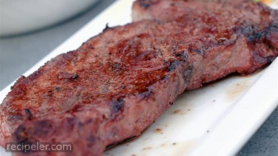 Grilling Thick Steaks - The Reverse Sear