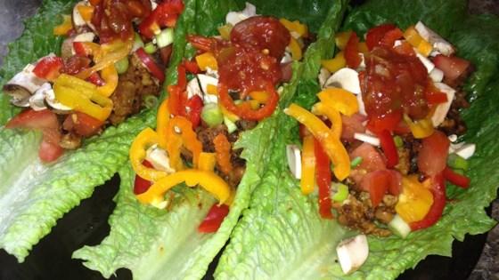 Ground Turkey Taco Lettuce Wraps