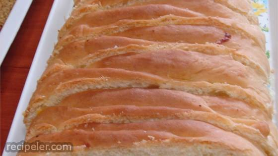 ham and cheese picnic bread