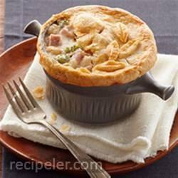 Ham and Cheese Pot Pie