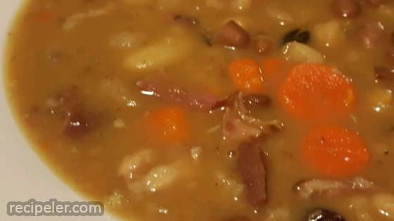 Ham Bone and Bean Soup