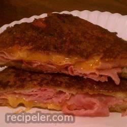 Ham Pan Sandwiches